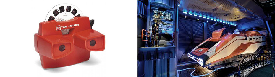 3D View Master and Star Tours